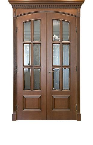 Двери Вилейка из массива ольхи